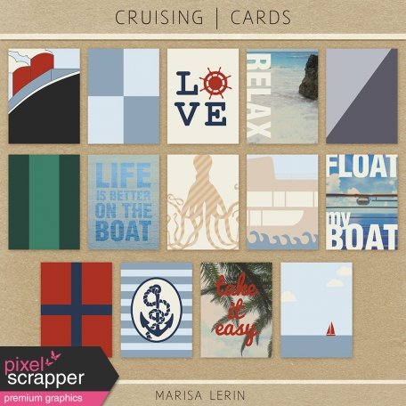 Cruising Journal Cards Kit