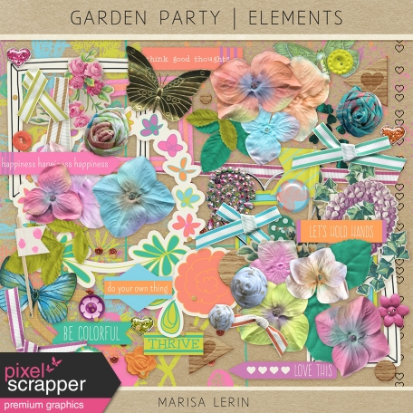 Garden Party Elements Kit