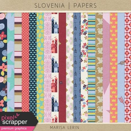Slovenia Papers Kit