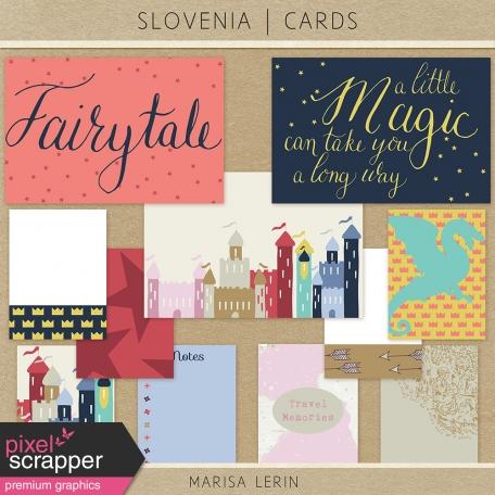 Slovenia Journal Cards Kit