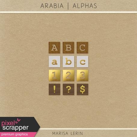 Arabia Alphas Kit