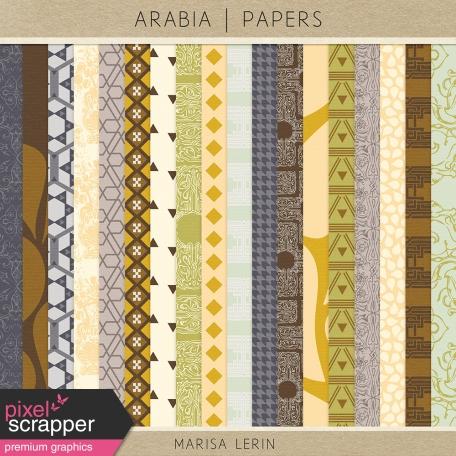 Arabia Papers Kit