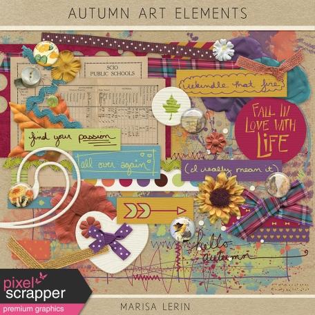 Autumn Art Elements Kit