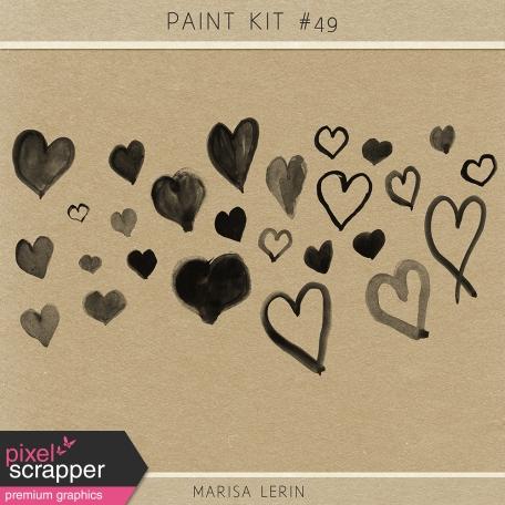 Paint Brush Kit #49 - Hearts
