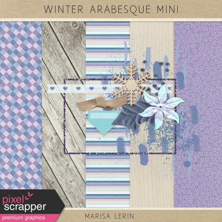 Winter Arabesque Mini Kit