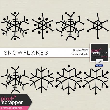 Snowflake Brushes Kit