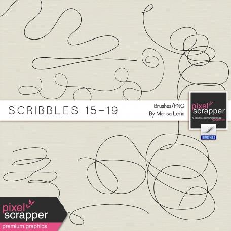 Scribbles 15 - 19  Kit