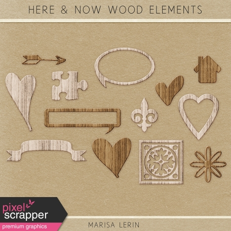 Here & Now Wood Kit