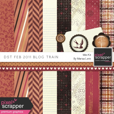 DST February 2011 Blog Train Kit