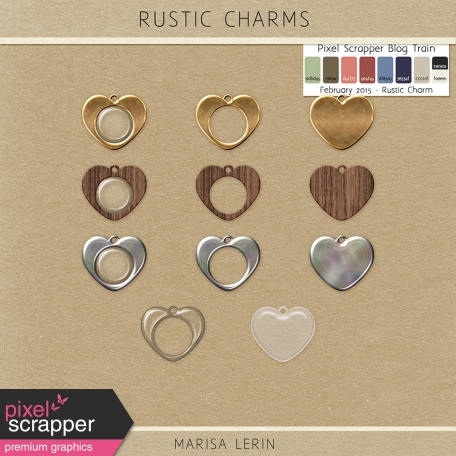 Rustic Charms Kit
