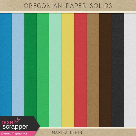 Oregonian Papers Kit - Solids