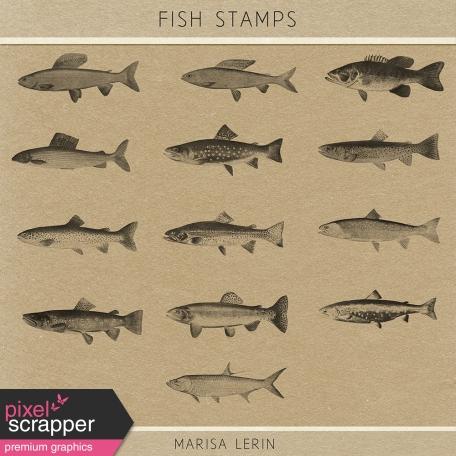 Fish Stamps Kit