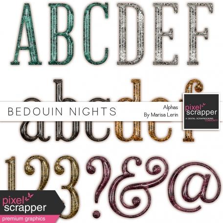 Bedouin Nights Plastic Glitter Alpha Kit