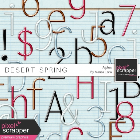 Desert Spring Metal Alpha Kit