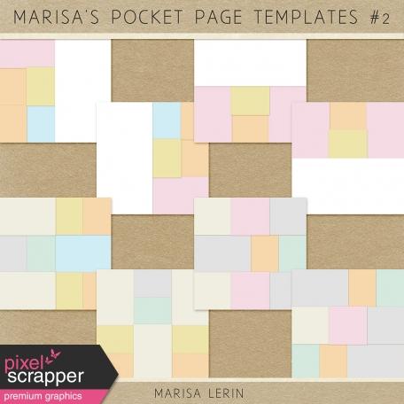 Marisa's Pocket Templates Kit #2
