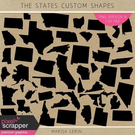 united states custom shapes
