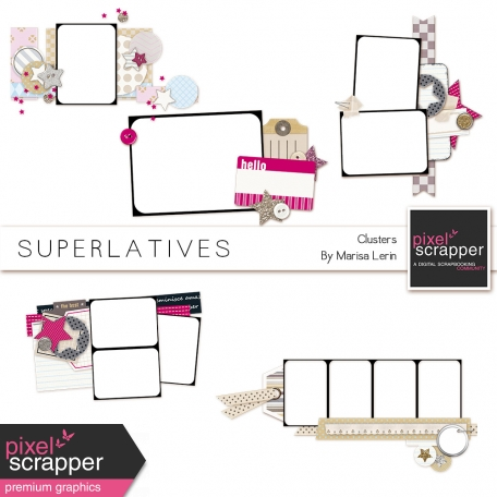 Superlatives Clusters Kit