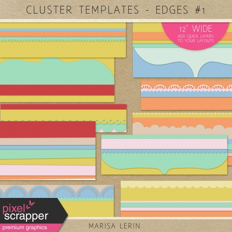 Cluster Templates Kit - Edges