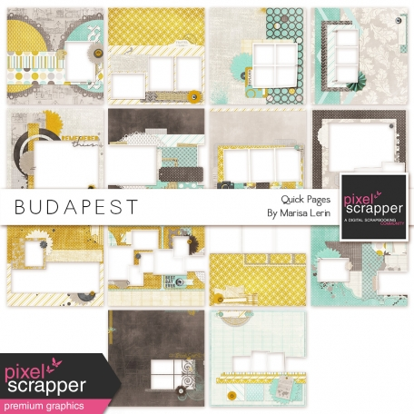 Budapest Quick Pages Kit