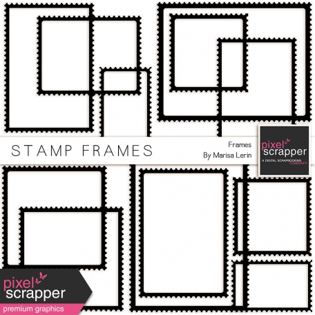 Stamp Frame Template Kit