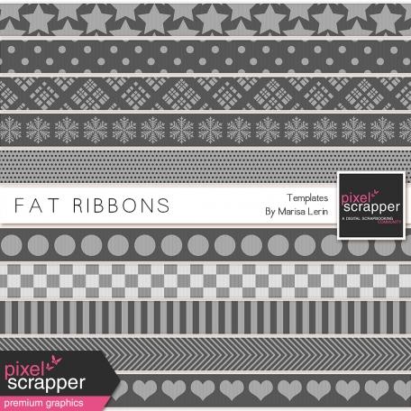 Fat Ribbon Templates