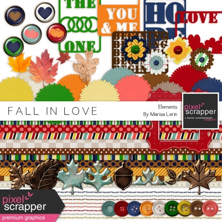 Fall In Love Elements Kit