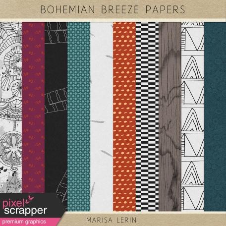Bohemian Breeze Papers Kit
