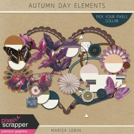 Autumn Day Elements Kit