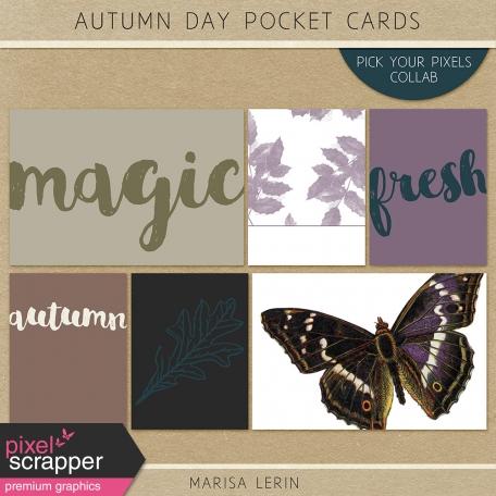 Autumn Day Pocket Cards Kit