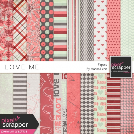 Love Me Papers Kit