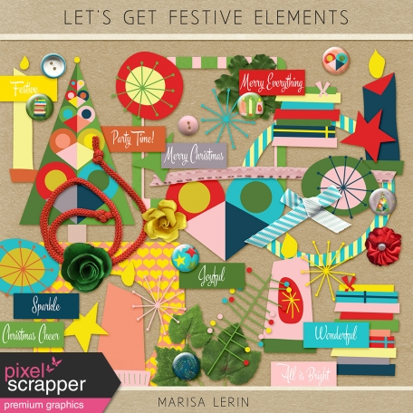 Let's Get Festive Elements Kit