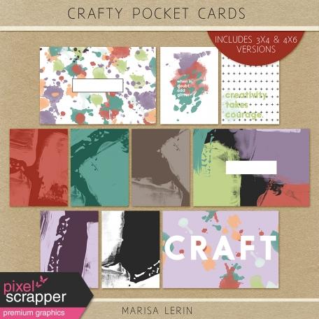 Crafty Evening Pocket Cards
