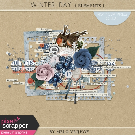 Winter Day - Elements
