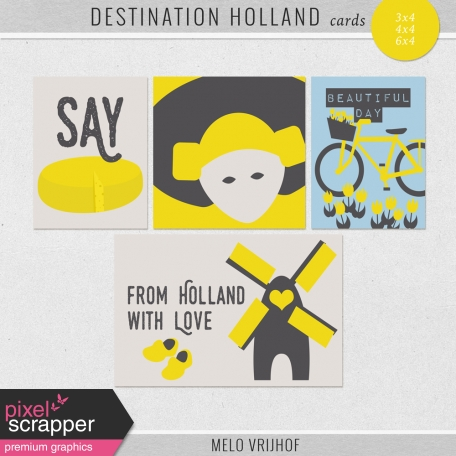 Destination Holland - Journal Cards