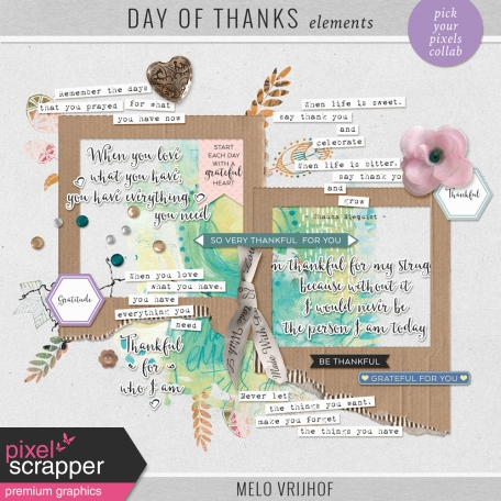 Day Of Thanks - Elements