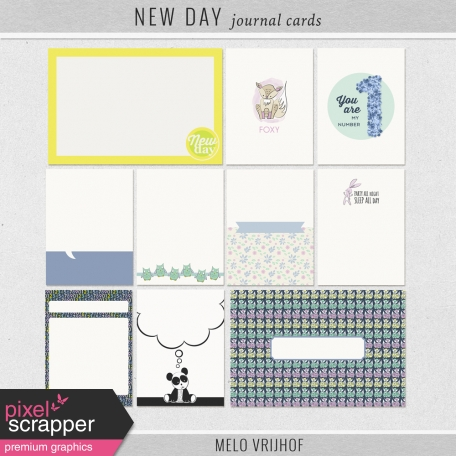 New Day - Journal Cards