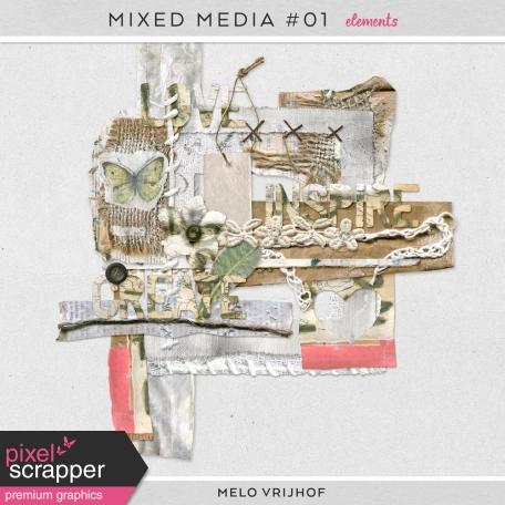 Mixed Media 1 - Elements