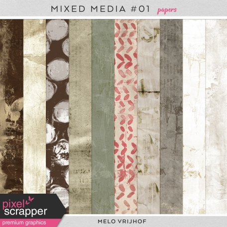 Mixed Media 1 - Papers