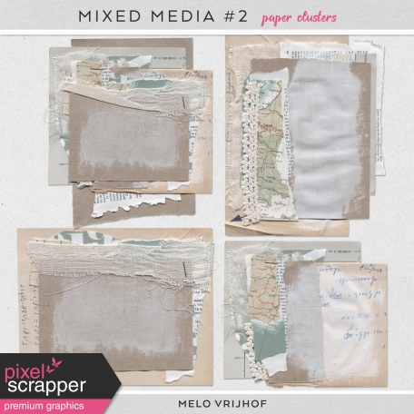 Mixed Media 2 - Paper Clusters