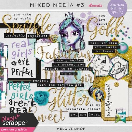 Mixed Media 3 - Elements
