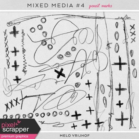 Mixed Media 4 - Pencil Marks