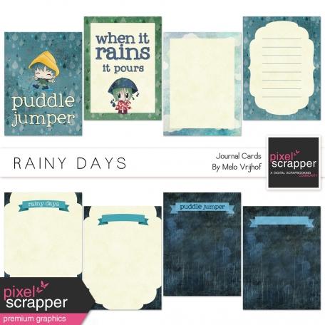 Rainy Days Journal Cards Kit