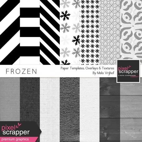 Frozen Paper Templates Kit