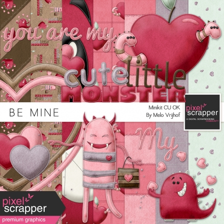 Be Mine - Cute Little Monsters Minikit
