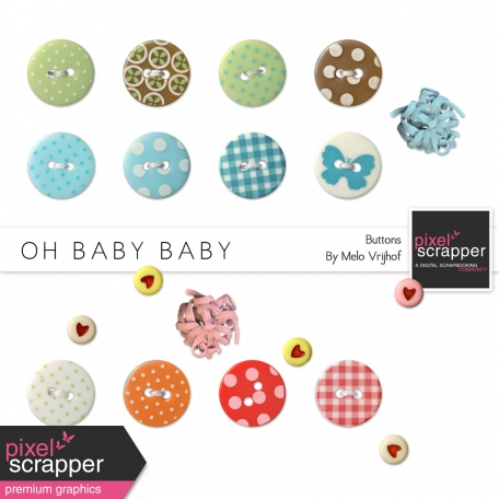 Oh Baby Baby Buttons Kit