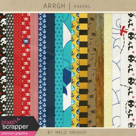 Arrgh! - Pirate Paper Kit