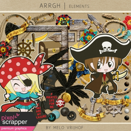 Arrgh! - Pirate Elements Kit