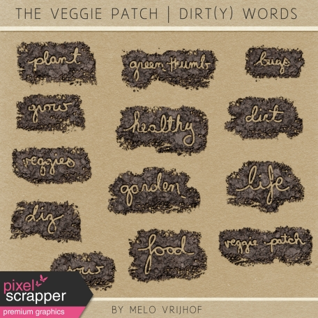 The Veggie Patch - Dirt(y) Words