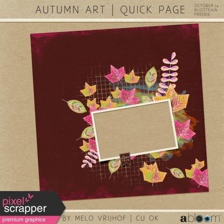 Autumn Art - Quick Page