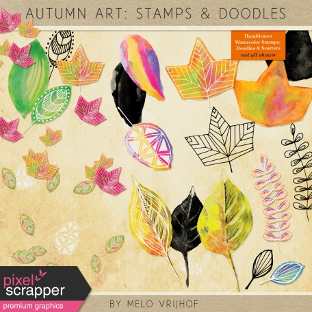 Autumn Art - Stamps & Doodles